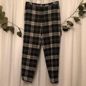 Asos Wool Plaid Pants
